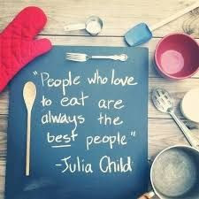 People who love to eat are always the best people!